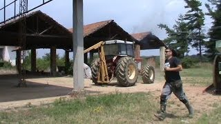 International 955 - sound of the tractor -