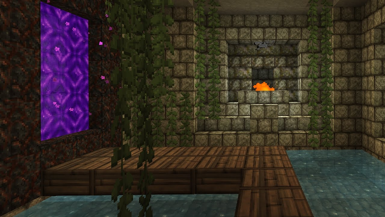 Jungle portal room minecraft lp 23 youtube - How to make a nice living room in minecraft ...