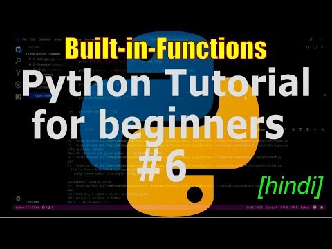 Python tutorial for beginners #6 - Built-in-Functions [hindi] thumbnail