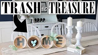 Thrift Store Makeover ⭐ Trash to Treasure Upcycle