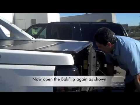 Bakflip Chevy Avalanche Install Mov Youtube