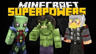 Minecraft: SUPERHEROES UNLIMITED MOD (Iron Man, Captain America & Deadpool) Mod Showcase