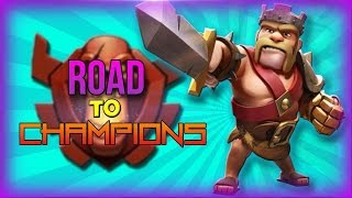 Clash of Clans: Road to Champion #8 - Hound vs Hound, Two Star BARCH Raid!