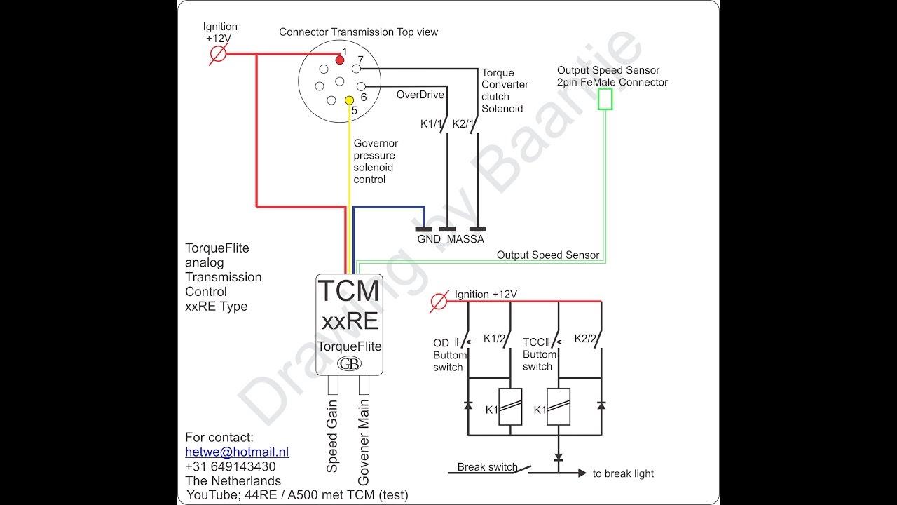 Torqueflite A500 A518 Xxre Governor Pressure Control