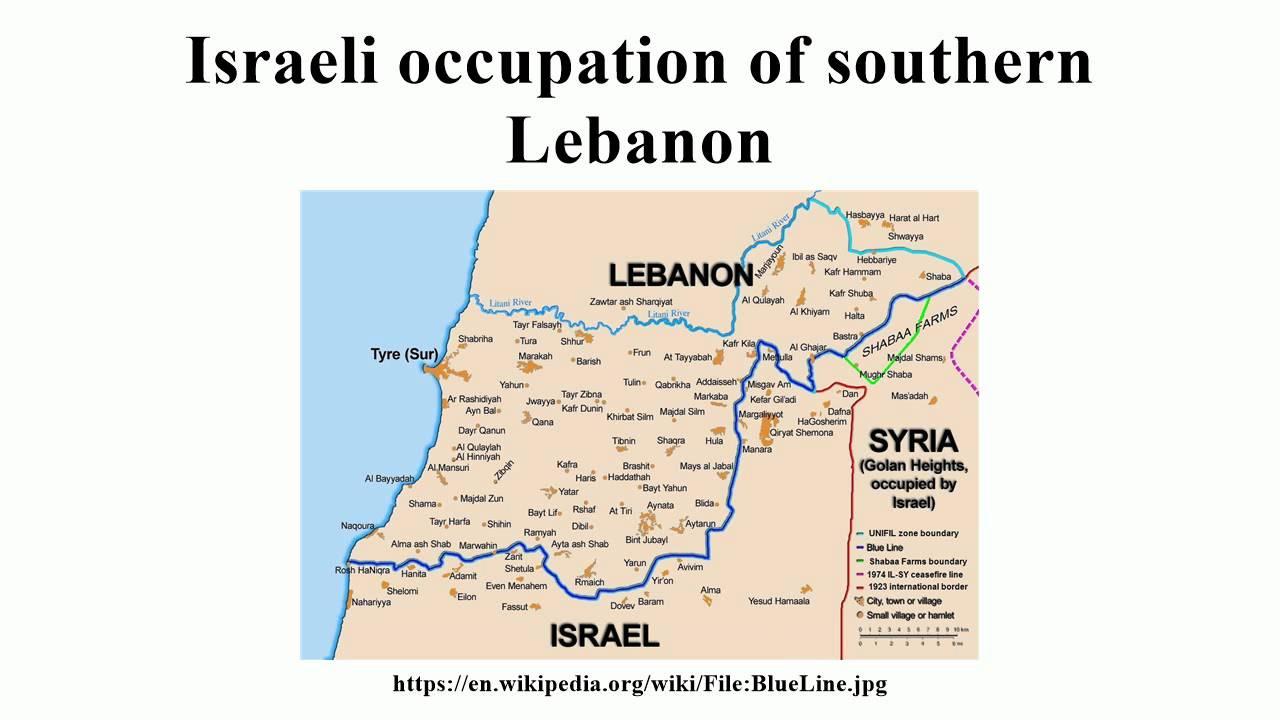 israeli invasion of lebanon 1978