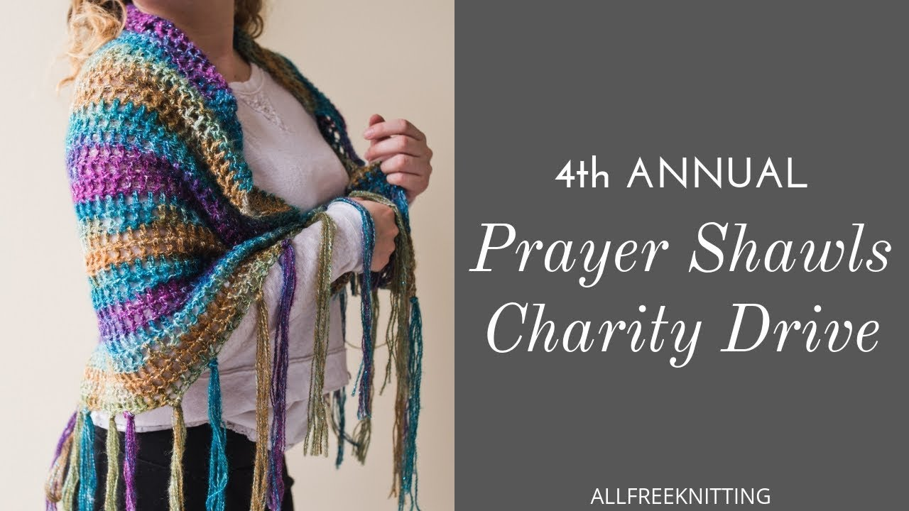 4th Annual Prayer Shawl Charity Drive