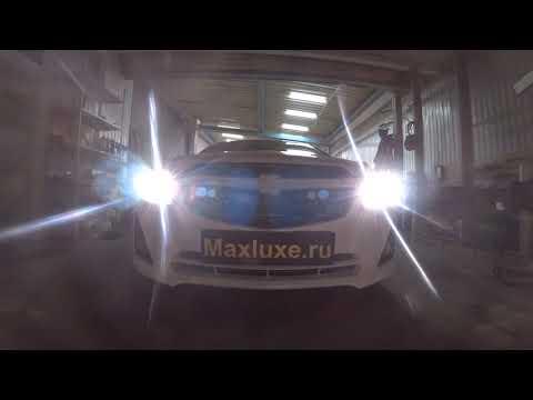 Chevrolet Cruze установка линз Morimoto