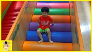 Indoor Playground Fun Learn Color Slide for Kids and Family | MariAndKids Toys
