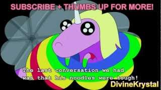 New! lady rainicorn translations to english adventure time -entire episode-