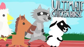 THE ULTIMATE TRAP YOUR FRIENDS GAME!! - ULTIMATE CHICKEN HORSE!