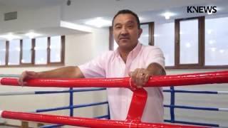 Семикратный чемпион мира по боксу Орзубек Назаров открыл в Бишкеке свой зал