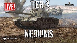 Tier X Medium Tanks Live  - Wot Blitz