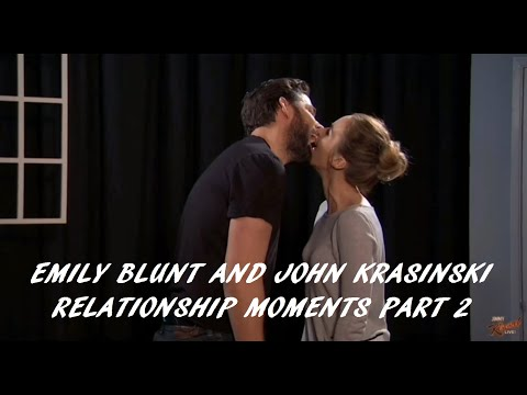 Emily Blunt and John Krasinski Relationship Moments Part 2