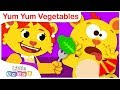 Yum Yum Vegetables   Healthy Eating Habits for Kids   Nursery Rhymes by Little Angel