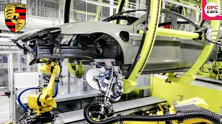 Porsche Production Process For Electric Taycan