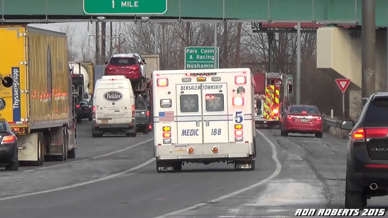 I-95 Accident Response, Bensalem, PA  by Ron Roberts