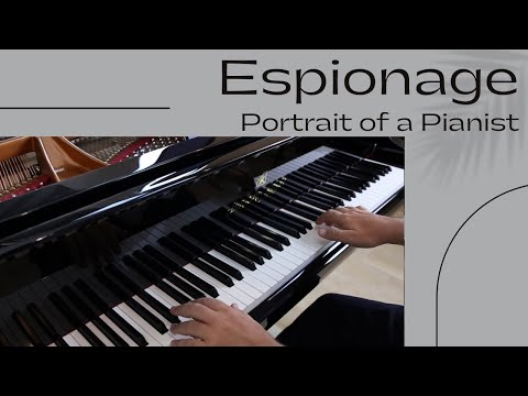Espionage - David Hicken (Portrait Of A Pianist) Piano Solo