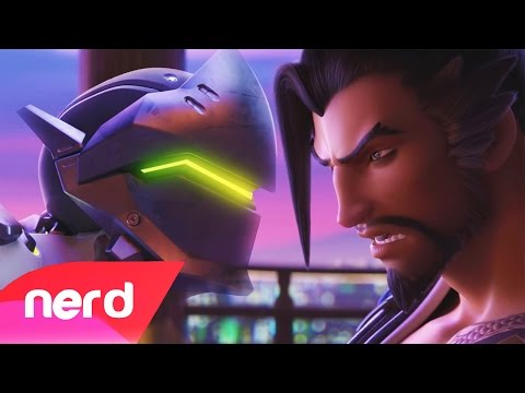 Overwatch Rap Battle | Genji vs Hanzo | #NerdOut!