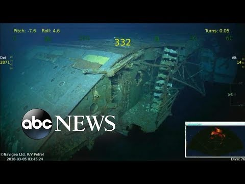 'Lady Lex' reemerges after 76 years at the ocean's bottom