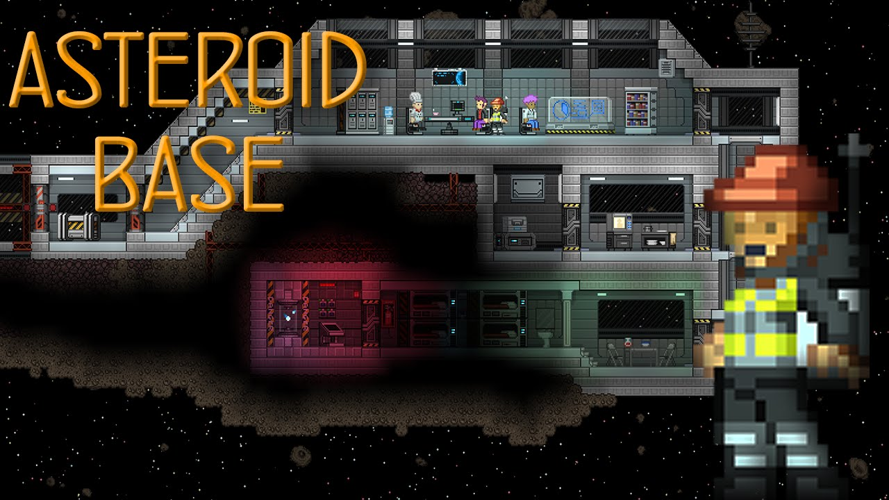 Starbound Creations Asteroid Base Youtube Wiring
