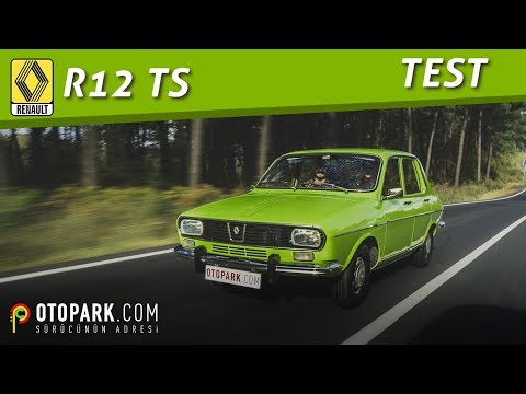 1974 Renault R12 TS | 46.000 kilometrede! | TEST