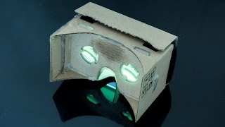 Google Cardboard VR glasses Oculus Rift like experience