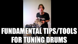 How To Tune A Drum: Fundamental Techniques & Tools