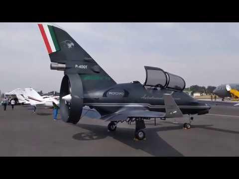 Pegasus, el avión 100% mexicano en FAMEX 19 HD