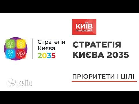 Стратегія міста Києва до 2035 року - #КиївПрийдешній