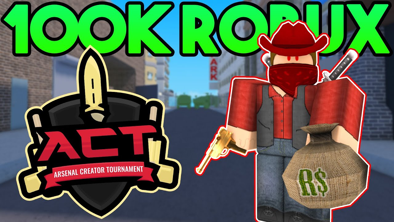 i m hosting the ultimate arsenal tournament for 100k robux roblox