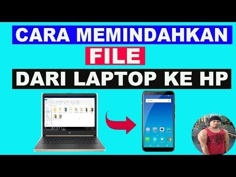 Cara Memindahkan File Dari HP Ke Laptop Komputer Dengan Kabel Data.