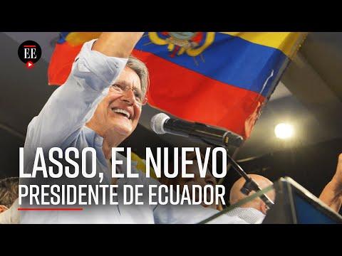 Guillermo Lasso: el primer presidente de derecha en 14 años en Ecuador - El Espectador