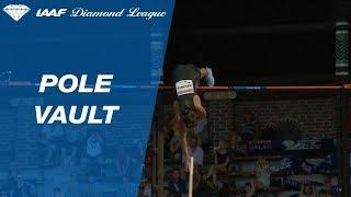 Armand Duplantis Wins Men's Pole Vault - IAAF Diamond League Stockholm 2018