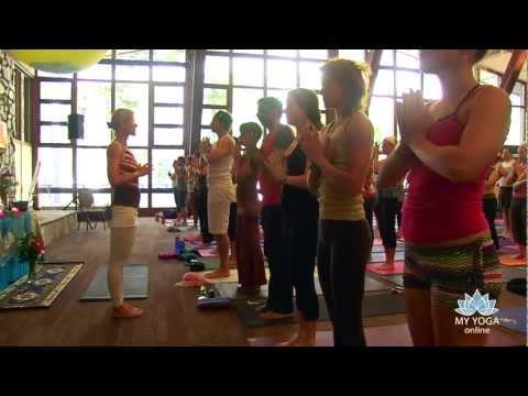 Shiva Rea Yoga: Surya Shakti Morning Meditation Mantra and Prana Flow Namaskar