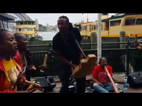 Jah Prayzah Mingles With The Natives Of Australia