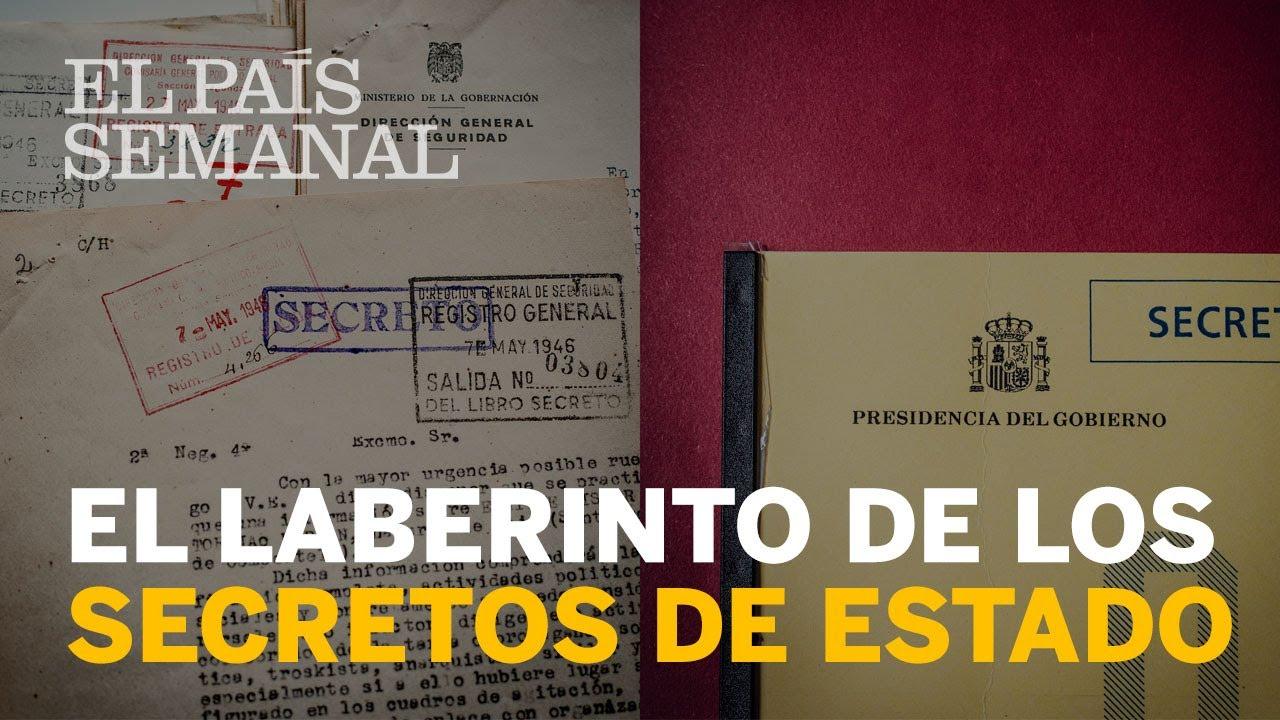 Resultado de imagen de Entramos en el laberinto de los secretos de Estado en España