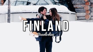 FINLAND TRAVEL DIARY: Staying in a GLASS IGLOO | Danielle Mansutti