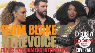 #TeamBlake interviewed at