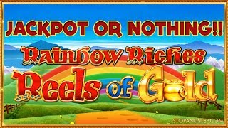 ** ALL or NOTHING!! ** Reels of Gold £30 - £50 Mega Spins