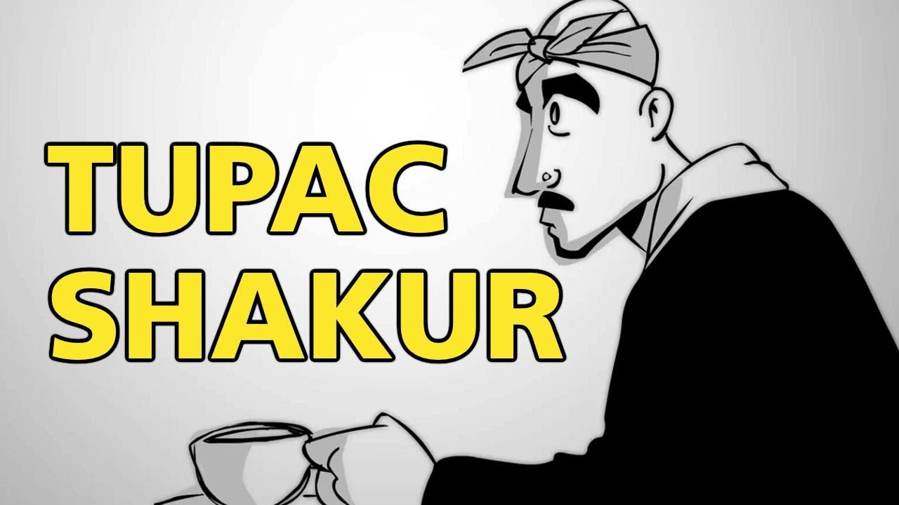 tupac talks life and death in new animated video newshour