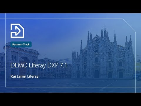 DEMO Liferay DXP 7.1