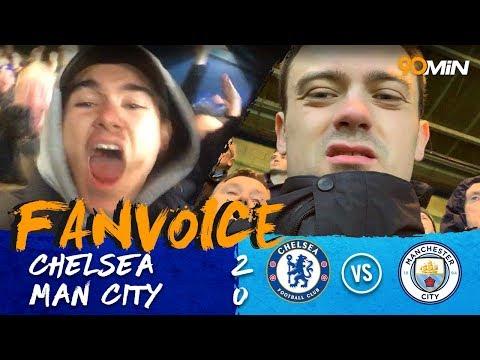 Chelsea put an end to Man City's unbeaten streak! | Chelsea 2-0 Man City | 90min FanVoice Mp3