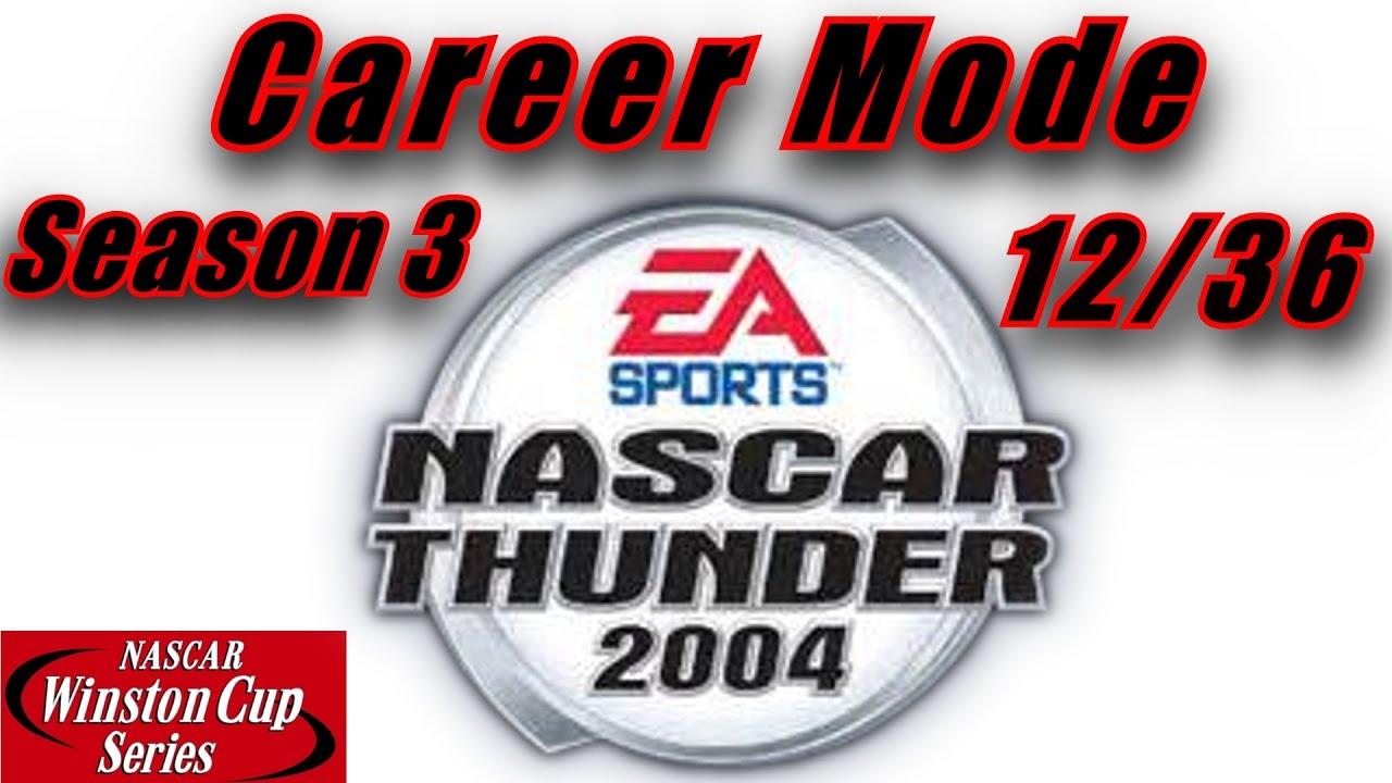 that speed doe nascar thunder career mode at lowe s season that speed doe nascar thunder 2004 career mode at lowe s season 3 race 12 36