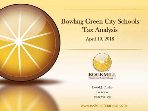 Bowling Green City Schools Tax Analysis