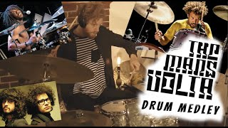The Mars Volta / Jon Theodore / Thomas Pridgen Drum Cover Medley by Sage Duvall