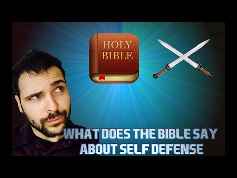 What Does The Bible Say About Self-Defense???