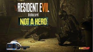 Resident Evil 7 Biohazard dodatek Not A Hero VR część 1 Wazzup :)