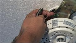 Lighting & Ceiling Fans : How to Fix or Install a Ceiling Fan