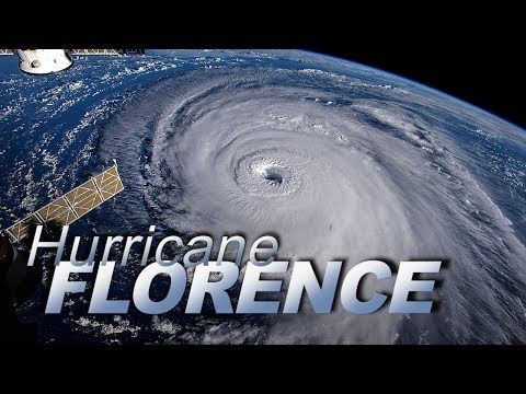 New Views of Hurricane Florence