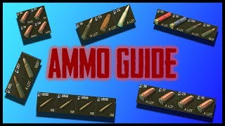 Escape From Tarkov - Ammo Guide
